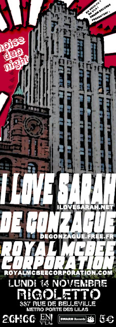 [#30] I Love Sarah + De Gonzague + Royal McBee Corporation
