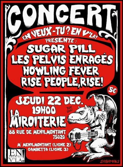 [#37] Sugar Pill + Howling Fever + Rise People, Rise! + Les Pelvis Enragés