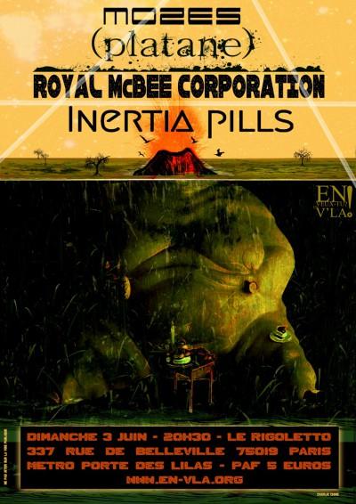 [#87] Inertia Pills + (platane) + Royal McBee Corporation + Mozés