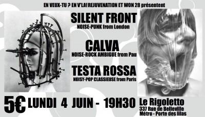 [#88] Silent Front + Calva + Testa Rossa
