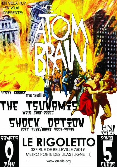 [#90] Thee Atom Brain + Shock Option + Willette et Gilkinson + Versolo