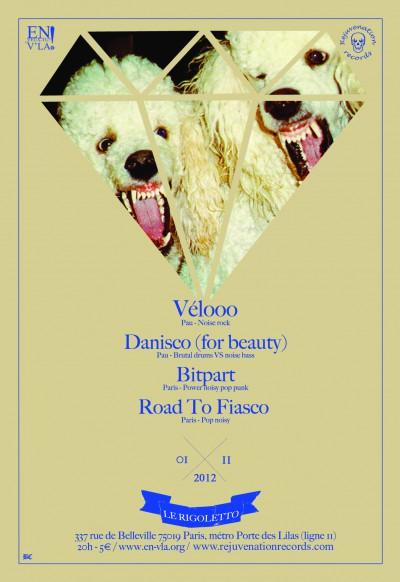 [#125] Vélooo + Danisco (for beauty) + Bitpart + Road To Fiasco