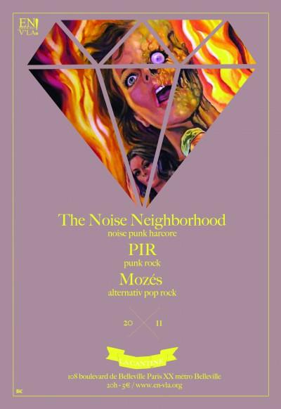 [#134] The Noise Neighborhood + PIR + Mozès