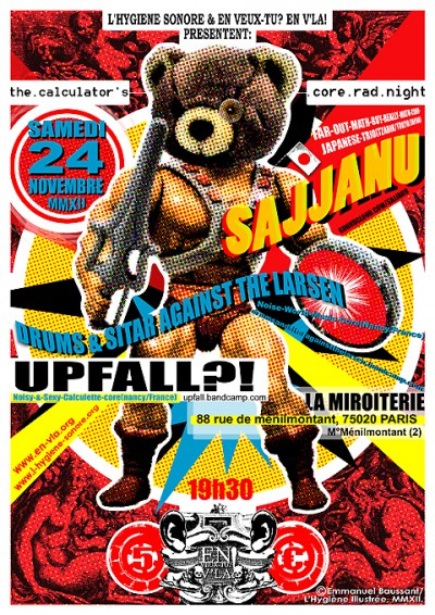 [#135] Sajjanu + Upfall?! + Drums & Sitar Against The Larsen