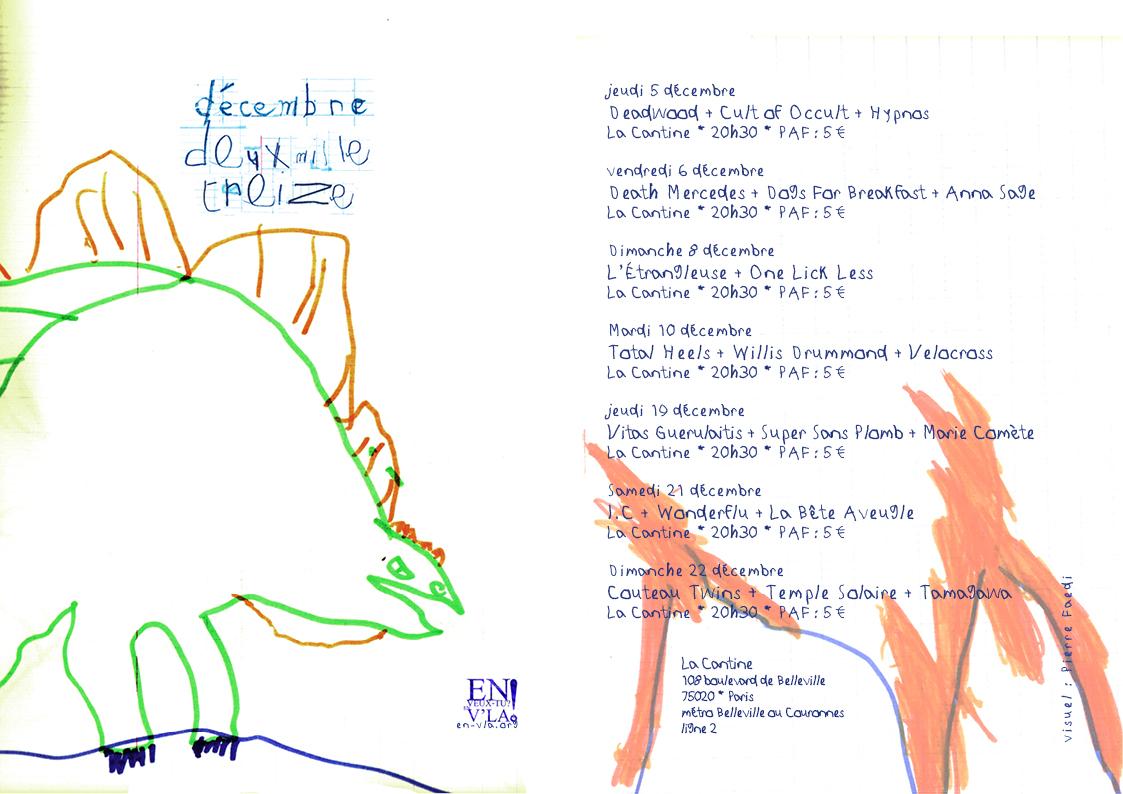 décembre 2013 - programme du mois - web