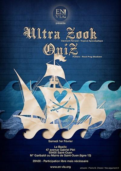 [#253] Ultra Zook + OniZ + Dean Sinatra @ Le Basilic // samedi 1er février
