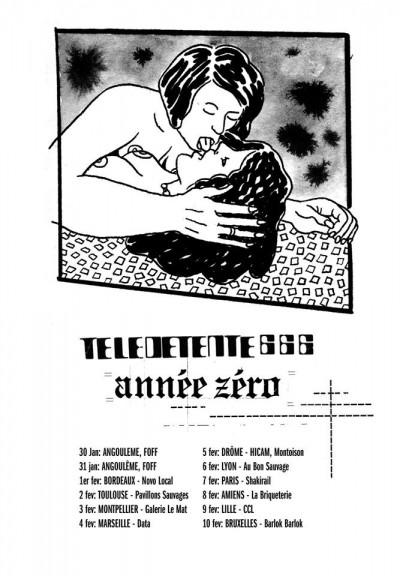 [#317] Télédétente 666 + Année Zéro + Terrine + Thharm // samedi 7 février