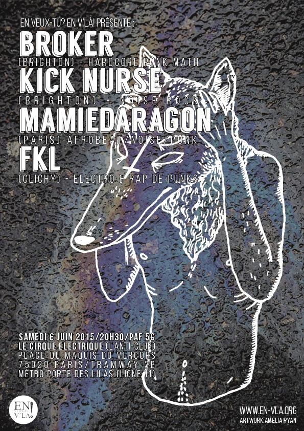 Broker kick nurse fkl mamiedaragon paris cirque - Le cirque electrique porte des lilas ...