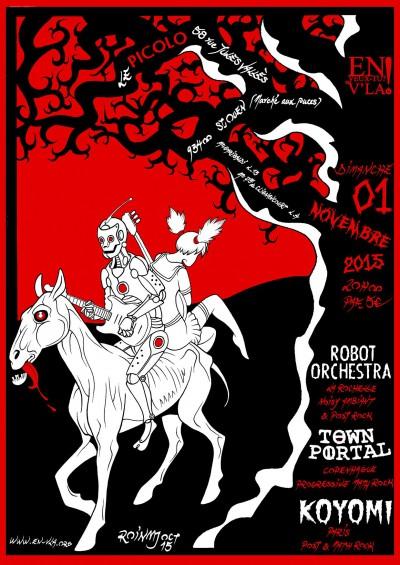 [#358] Town Portal + Robot Orchestra + Koyomi @ Le Picolo // dimanche 1er novembre