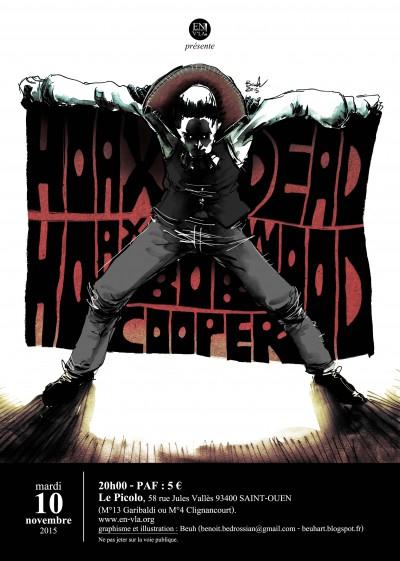 [#361] Hoax Hoax + deadwood + BOB Cooper @ Le Picolo // mardi 10 novembre