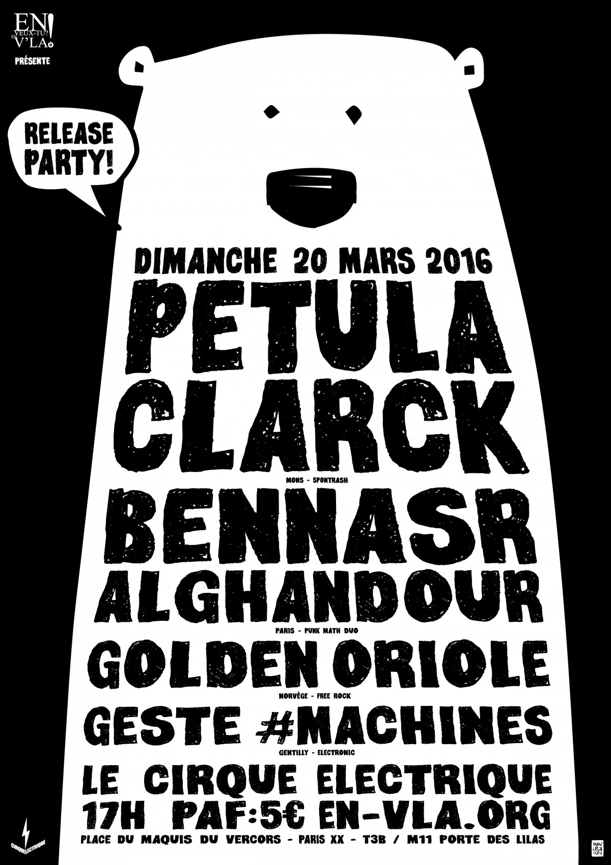 Petula clarck bennasr alghandour golden oriole geste - Le cirque electrique porte des lilas ...