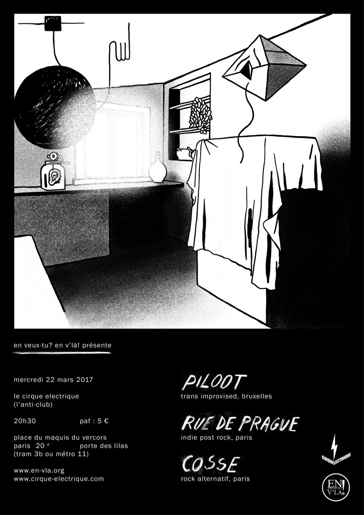 447 piloot rue de prague cosse le cirque - Le cirque electrique porte des lilas ...