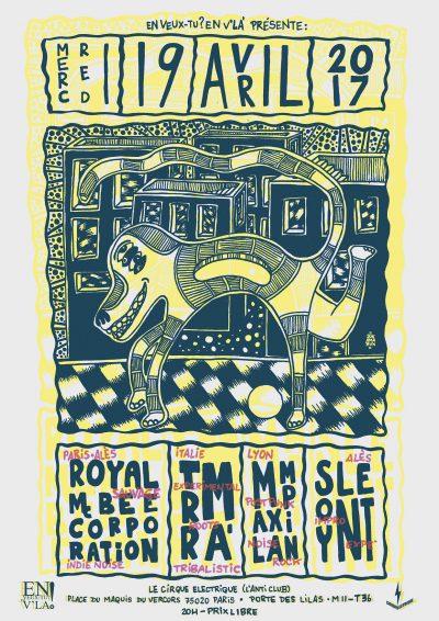 [#452] Royal McBee Corporation + Trrmà + Max Lampin + Soylent @ Le Cirque Electrique // mercredi 19 avril