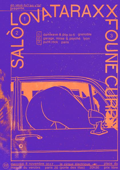 [#483] Lovataraxx + Salò + Foune Curry @ Le Cirque Electrique // mercredi 8 novembre