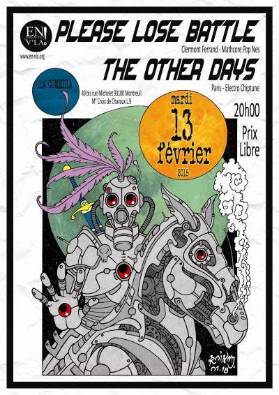 [#501] Please Lose Battle + The Other Days @ La Comedia // mardi 13 février