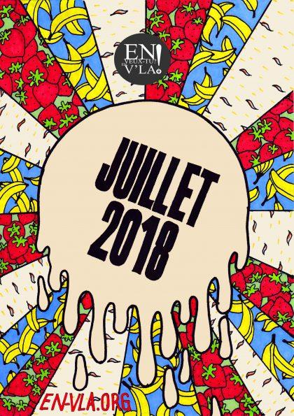 juillet 2018 [artwork : La Légende]