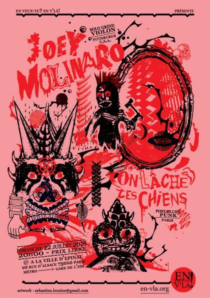 [#528] Joey Molinaro + On lâche les chiens @ La Ville d'Epinal // dimanche 22 juillet