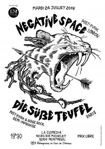 [#529] Negative Space + Die Süße Teufel @ La Comedia // mardi 24 juillet