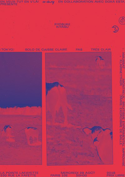 [#531] Ryosuke Kiyasu + Klarinetthor + XMUSSAT @ La Pointe Lafayette // mercredi 29 août