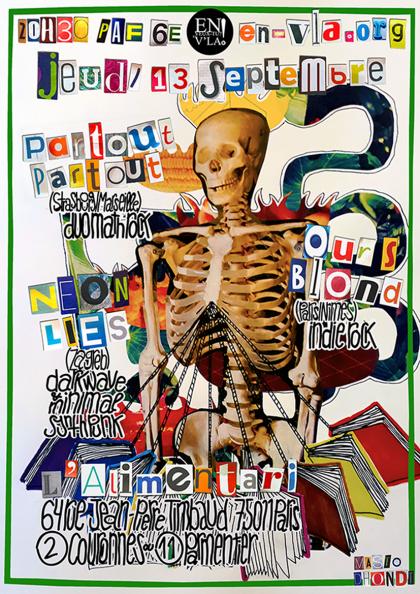 [#533] Partout Partout + Ours Blond + Neon Lies @ L'Alimentari // jeudi 13 septembre