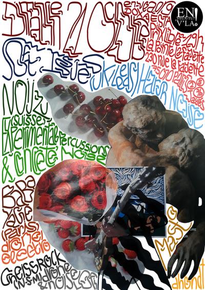 [#543] Soft Issues + Noijzu + BaBa YaGe + Gneiss Rock @ La Pointe Lafayette // dimanche 21 octobre