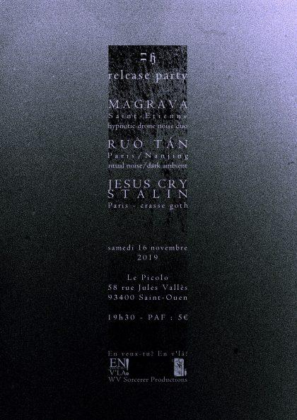 [#613] Magrava + ruò tán + Jesus Cry Stalin @ Le Picolo // samedi 16 novembre